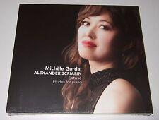 Scriabin: Extase; ɐtudes For Piano (CD, 2014) Michèle Gurdal - new