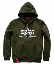 Alpha Industries Basic Hooded Jacket Sweater Jacket Zip Hoody 178325