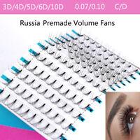 Mink Hair Premade Volume Fans Individual Eyelashes Extension False Eyelashes