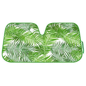 Tropical Leaves Sunshade for Car SUV Jumbo Window Windshield Auto Shade