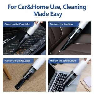 Wireless Wet&Dry Car Vacuum Cleaner Portable Handheld Strong Suction Car Hoover
