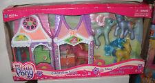 #2587 Hasbro My Little Pony Celebration Salon w/Amberlocks & 3 Ponies