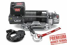 WARN 87800 M8000-S 8000 lb Premium Series Winch 4.8HP 100 3/8 Synthetic Rope