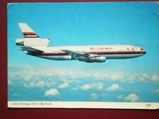 POSTCARD AIR DC10 SKY TRAIN LAKER AIRWAYS