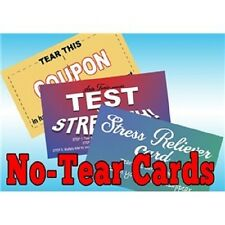 No-Tear-Cards, The Perfect Gag Item, Can't Tear These Cards, Set of 3 (4015)