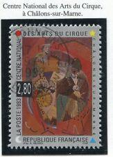 STAMP / TIMBRE DE FRANCE OBLITERE N° 2833 ART DU CIRQUE