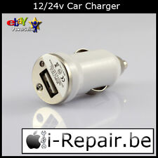 New 12v/24v Car Charger - Chargeur voiture - prise allume cigare - To USB