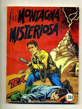 TEX # LA MONTAGNA MISTERIOSA # N.15 - Maggio 1965 # Araldo # Lire 350