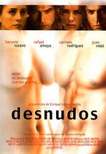 SEALED - Desnudos DVD NEW De Enrique Gomez Vadillo y Rafael Amaya BRAND NEW