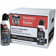 Dust-Off Air Computer TV Disposable Compressed Gas Duster, 10-oz. XL 12 pack