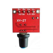 90W PWM DC Motor Speed Control Regulator Module Switch LED Dimmer Board 5A MA
