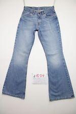 Levis 544 flare bootcut (Cod.J579) Tg.42 W28 L34 jeans usato boyfriend donna