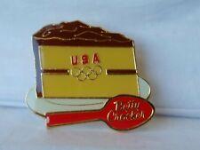 Betty Crocker USA Olympic Sponsor Red Spoon Logo Piece of Cake General Mills