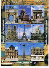 Madagascar MNH M/S 1999 Philex France Monuments Architecture Carousel