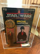 Vintage Kenner Star Wars 92 back Imperial Dignitary AFA 80 POTF MOC Unpunched