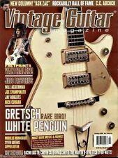 Vintage Guitar Magazine February 2005 Gretsch White Penguin, Van Halen, Martin