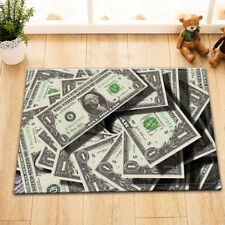 Old Money US Dollar Home Porch Kitchen Rug Floor Carpet Bath Mat Memory Foam Rug