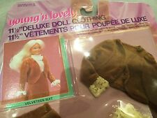 Vintage Young N Lovely Deluxe Doll Clothes Barbie Clothes New in Package
