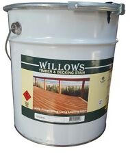 Willows Timber Decking Furniture Window Beams Stain Paint OiL Based 10L Clear