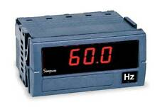 Digital Panel Meter,Frequency SIMPSON ELECTRIC F35-1-91-0