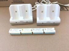 Nintendo Wii 2 Nyko Charge Stations & 4 Nyko Rechargeable Battery Packs TESTED!!