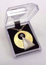 "Star Trek Vulcan IDIC Medallion 1-1/2""  Pendant w/ 24"" Chain in Deluxe Box"