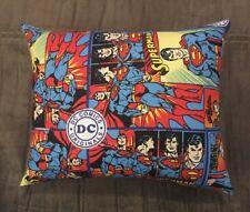 "Beautiful Handmade Superman Accent - Throw Pillow 10"" x 9"""