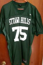 OTTAWA HILLS game jersey Green Bears OHIO High School XL nylon Nike #75