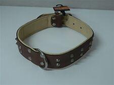 Collare cani RECORD LAREDO doppio borchiato 70 cm 35 mm M233