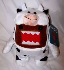 "Domo Kun in Cow Costume 10"" Plush Stuffed Toy-Domo Kun-Domo Kun Plush-New!"