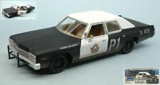 Dodge Monaco 1974 Blues Brothers 1980 Bluesmobile 1:24 Model GREEN LIGHT