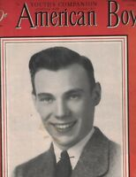 American Boy Magazine November 1940 Navy William Heyliger Bigelow Neal