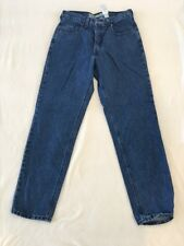 Men's ABERCROMBIE & FITCH Blue Zip Fly Denim Jeans Size 32X32 NEW VTG EASY FIT