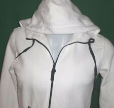 KILIWATCH Hoodie White Womens MEDIUM Sweatshirt Full Zipper Up Hooded