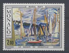 """MONACO - 1977 - 100° nascita R. Dufy. Dipinto """"Il Bacino di Deauville"""""""