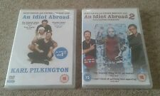DVDs An Idiot Abroad & An Idiot Abroad 2 - Karl Pilkington - Sealed