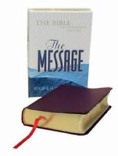 The Message Compact Burgundy Bonded Leather: The Bible in Contemporary Language