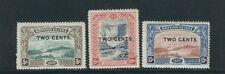 Britannique Guyane 1899 Mt.Roraima , Kaieteur Chûtes(Scott 157-9) F/ VF MH