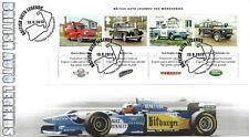 GB 2013 CARS MINIATURE SHEET BUCKINGHAM COVERS OFFICIAL FIRST DAY COVER