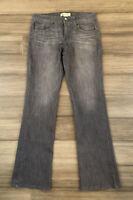 DEMOCRACY Women's Black Revolution Boot Cotton Blend Bootcut Denim Jeans-Size 10