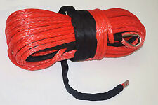 16mm*28m Red Plasma Winch Cable,Off Road Rope,Tow Rope Car,Synthetic Winch Rope