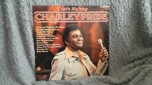 CHARLEY PRIDE  THATS MY WAY VINYL LP