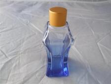 Blue Coloured Glass Bottles 35ml includes Cap and Stopper 9 Bottles.