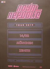 Royal Republic - Tourposter/Tourplakat 2019 - München - NEU