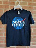 "UNITED STATES SPACE FORCE,USSF,NASA,/""Donald Trump/"" BASEBALL T-SHIRT T-1294Blu1"
