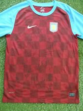 Aston Villa Shirt Hand Signed by 2011-2012 Squad - 26 Autographs - Heskey, Given