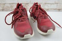 adidas Tubular Red Trainers size Uk 8