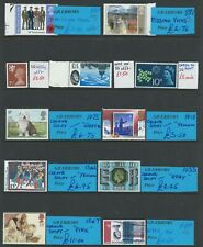 GB ERRORS / VARIETIES, SELECTION OF 11 DIFFERENT ITEMS AS SCAN  PTSA £41+ GB1918