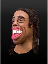 Fußballstar Maske Kostüm Karneval Fasching Prominenter