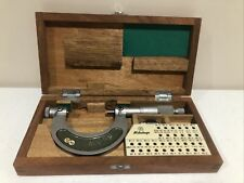 Mitutoyo 1 2 Thread Pitch Micrometer No 126 138a